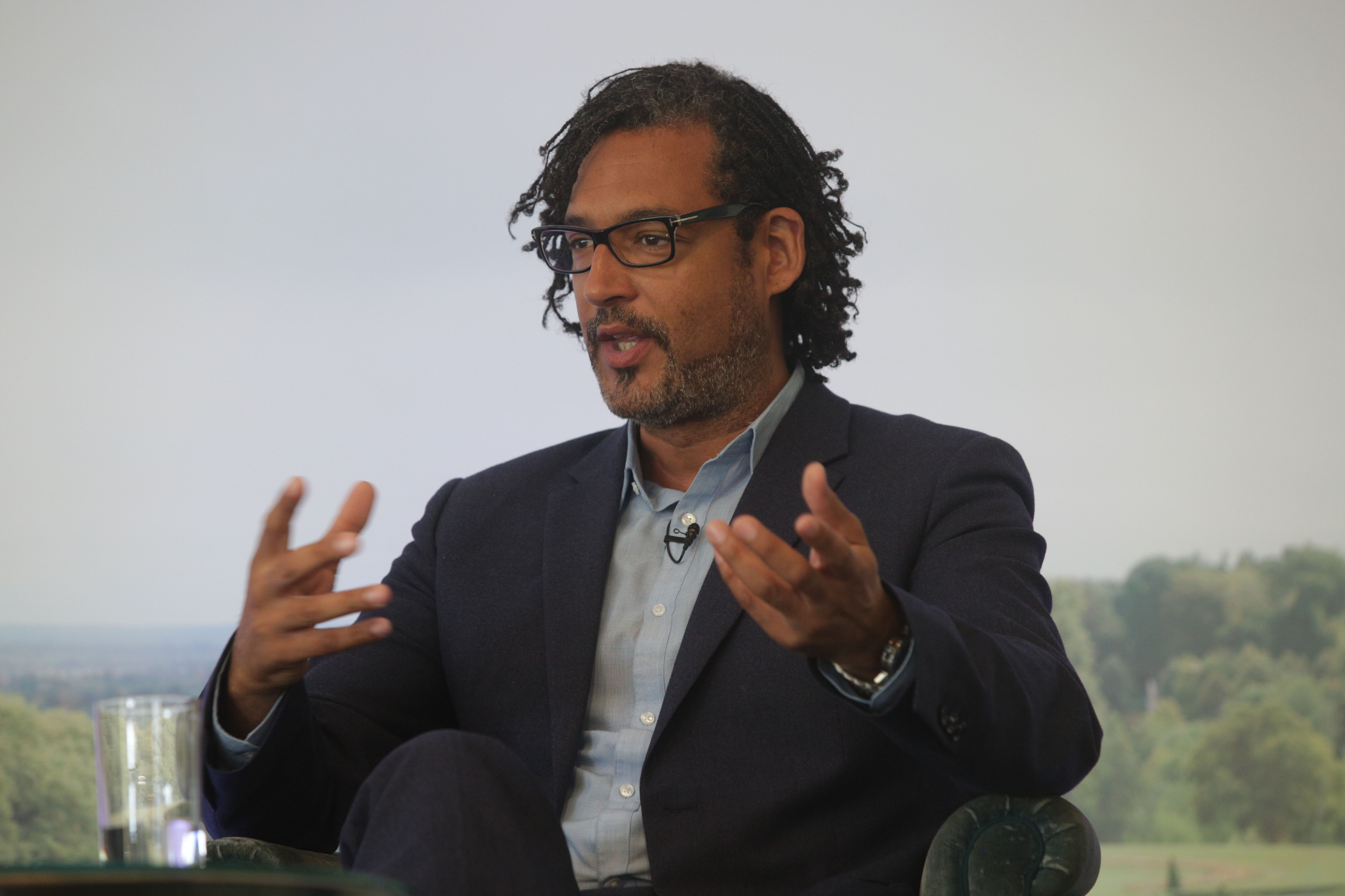 David Olusoga on The Arts Club Stage at Cliveden Literary Festival