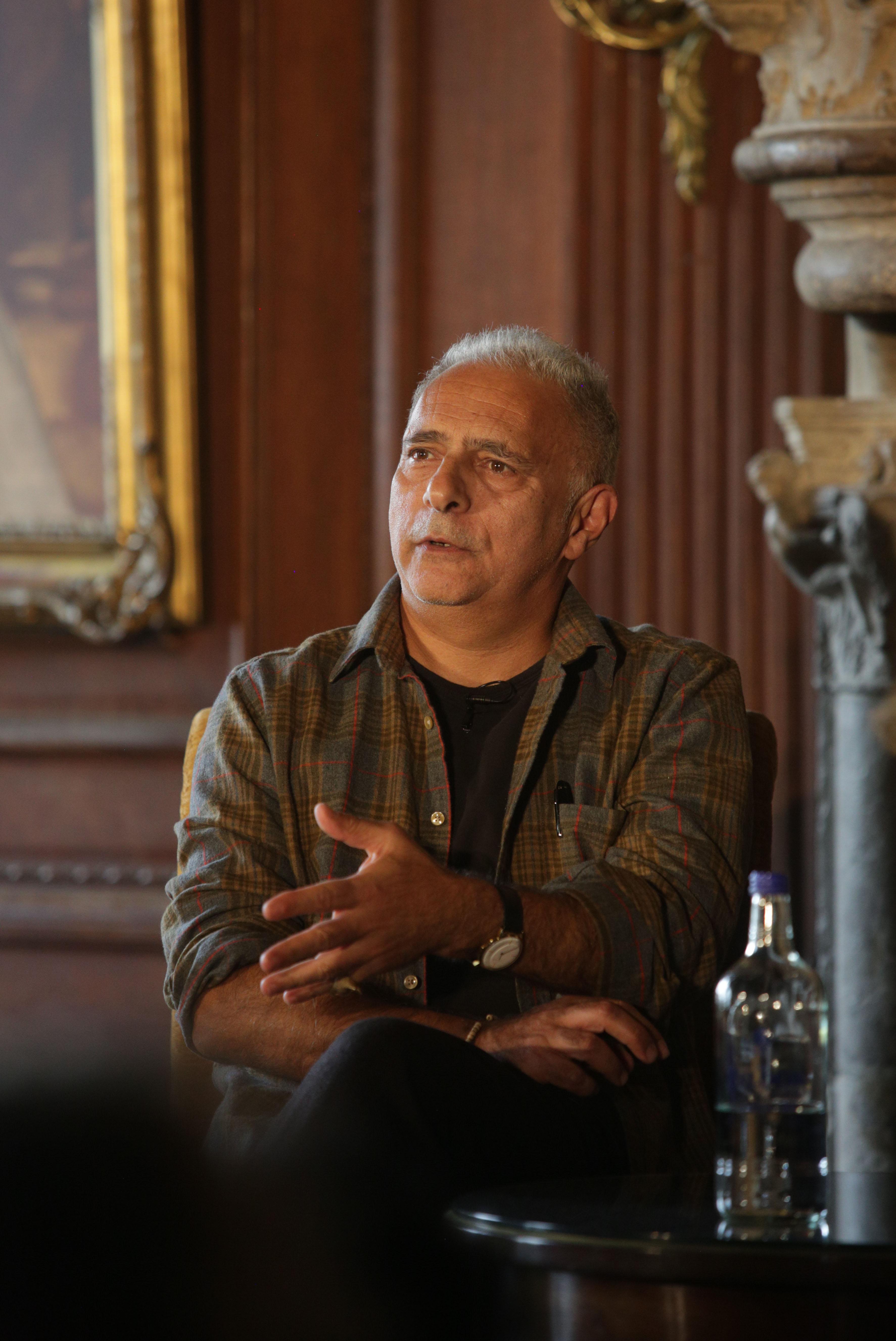 Hanif Kureishi at Cliveden Literary Festival