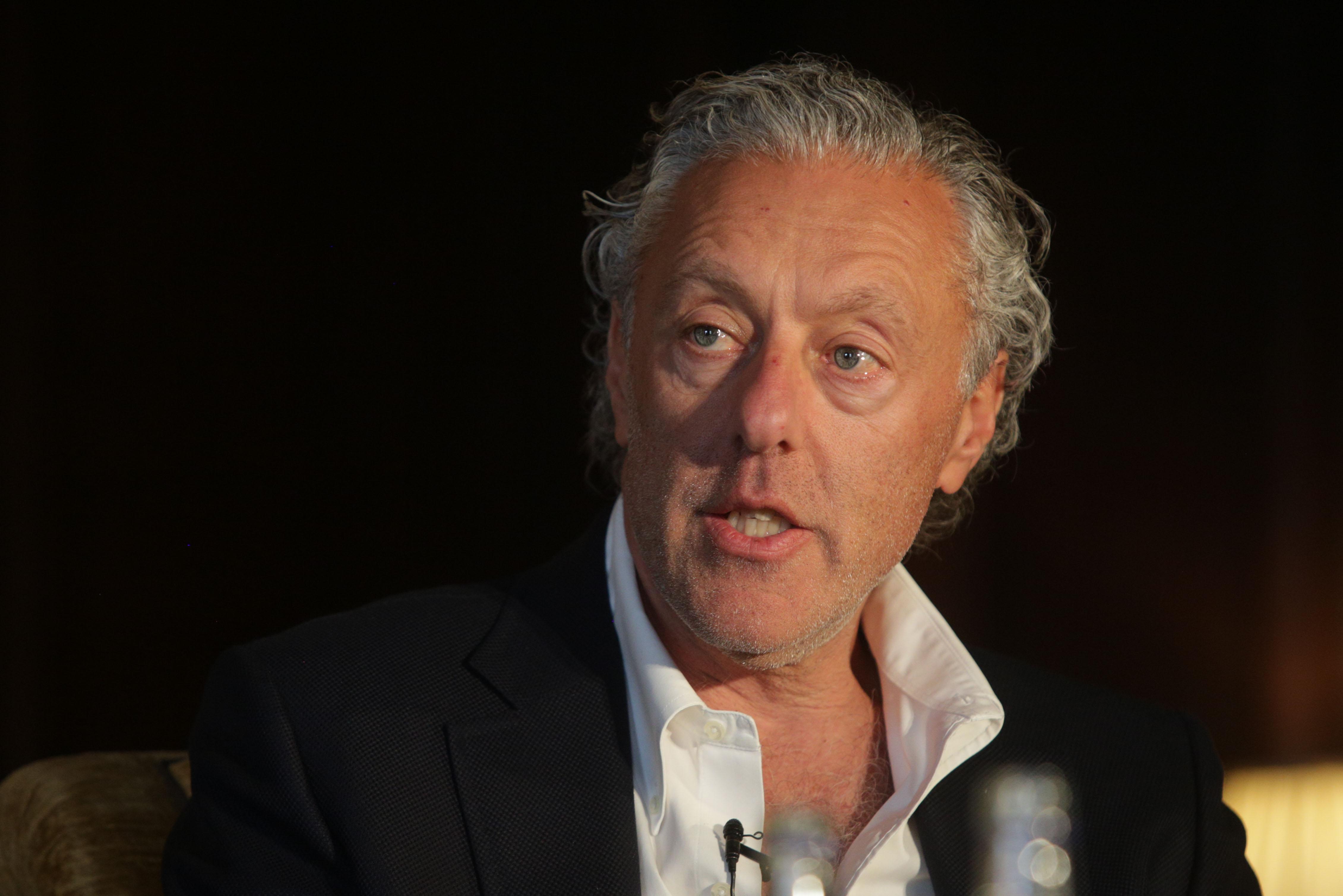 Ian Livingstone at Cliveden Literary Festival