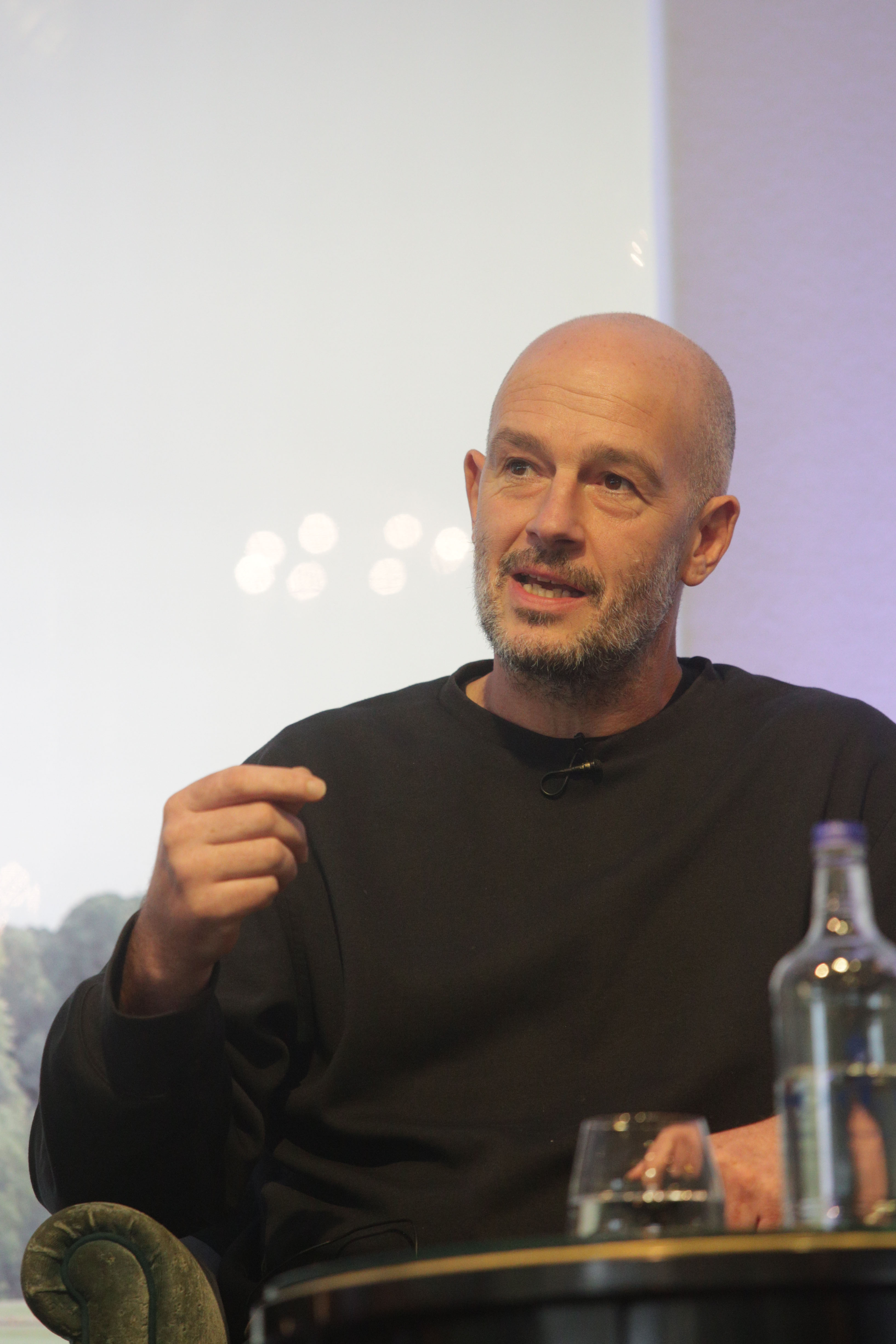 Jake Chapman at Cliveden Literary Festival