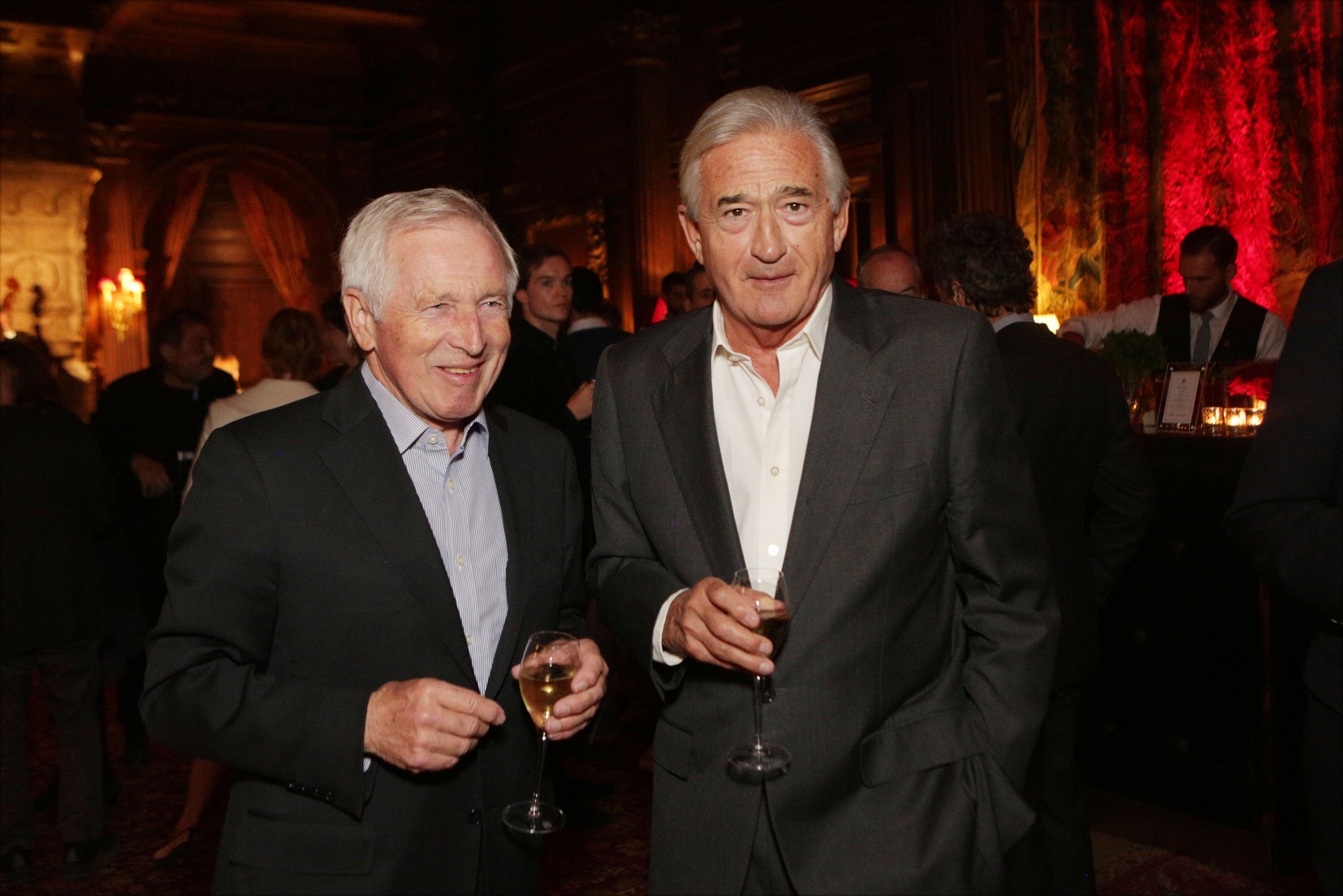 Jonathan Dimbleby and Antony Beevor at Cliveden Literary Festival
