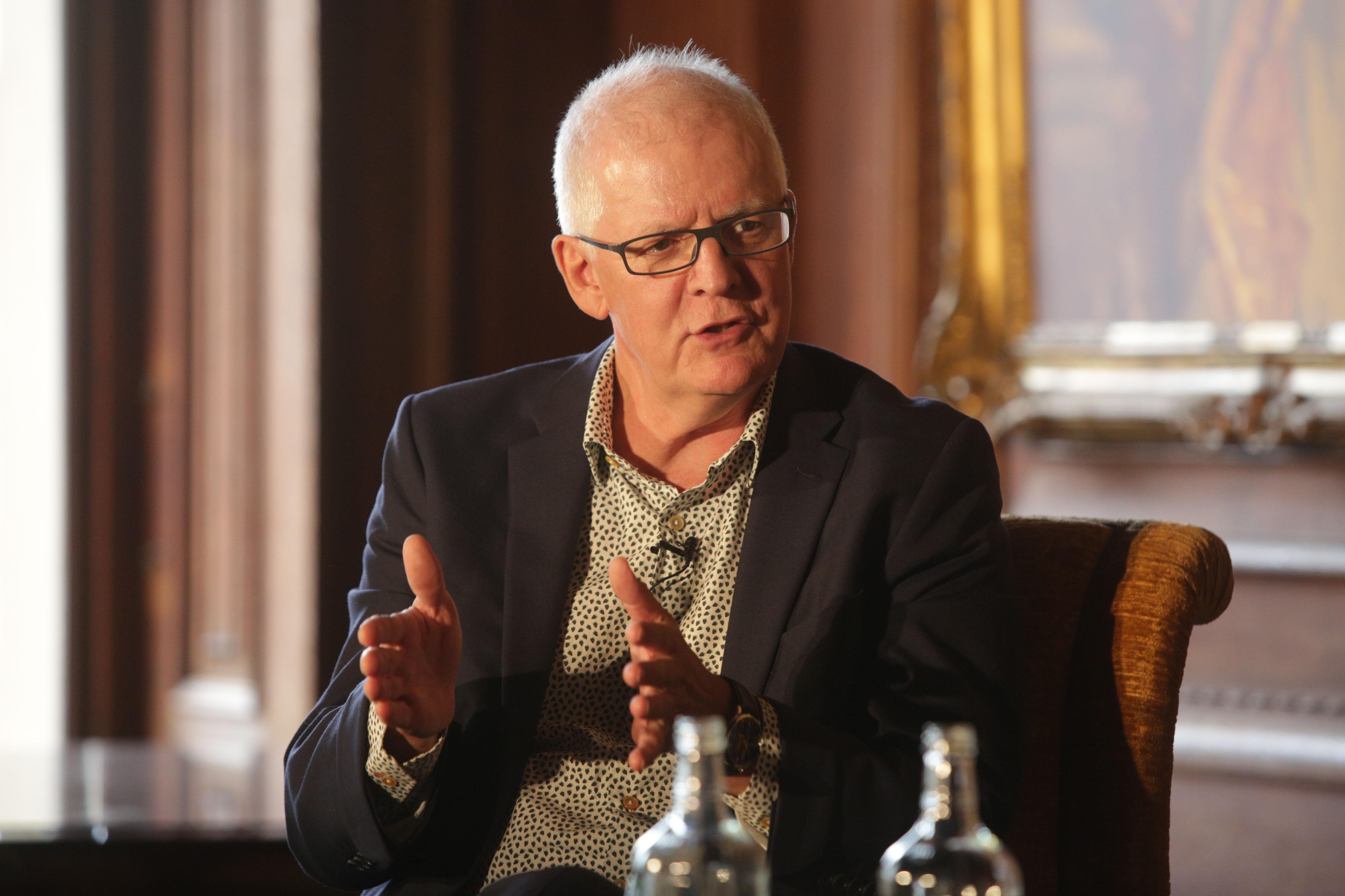 Ken Shuttleworth at Cliveden Literary Festival