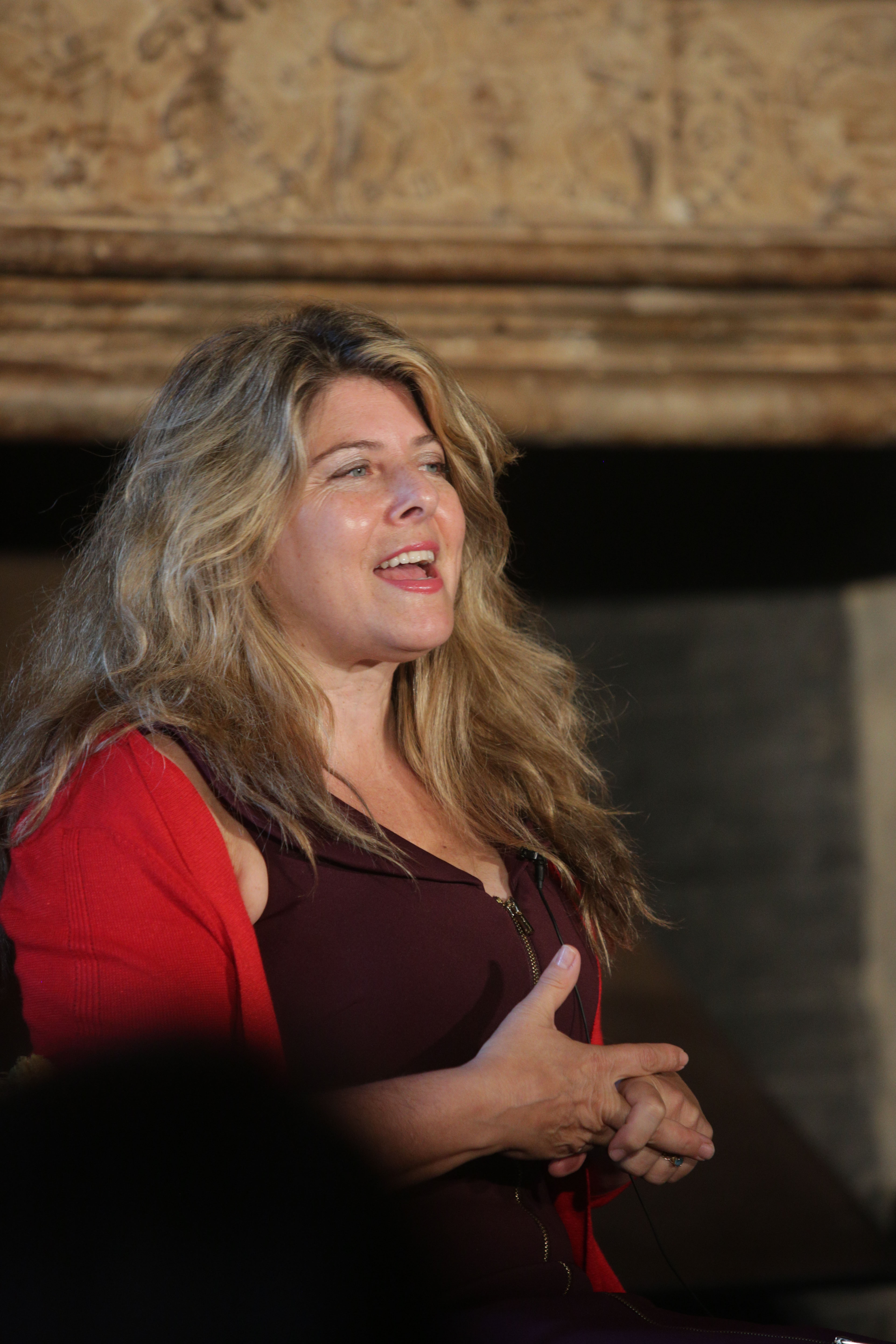 Naomi Wolf at Cliveden Literary Festival