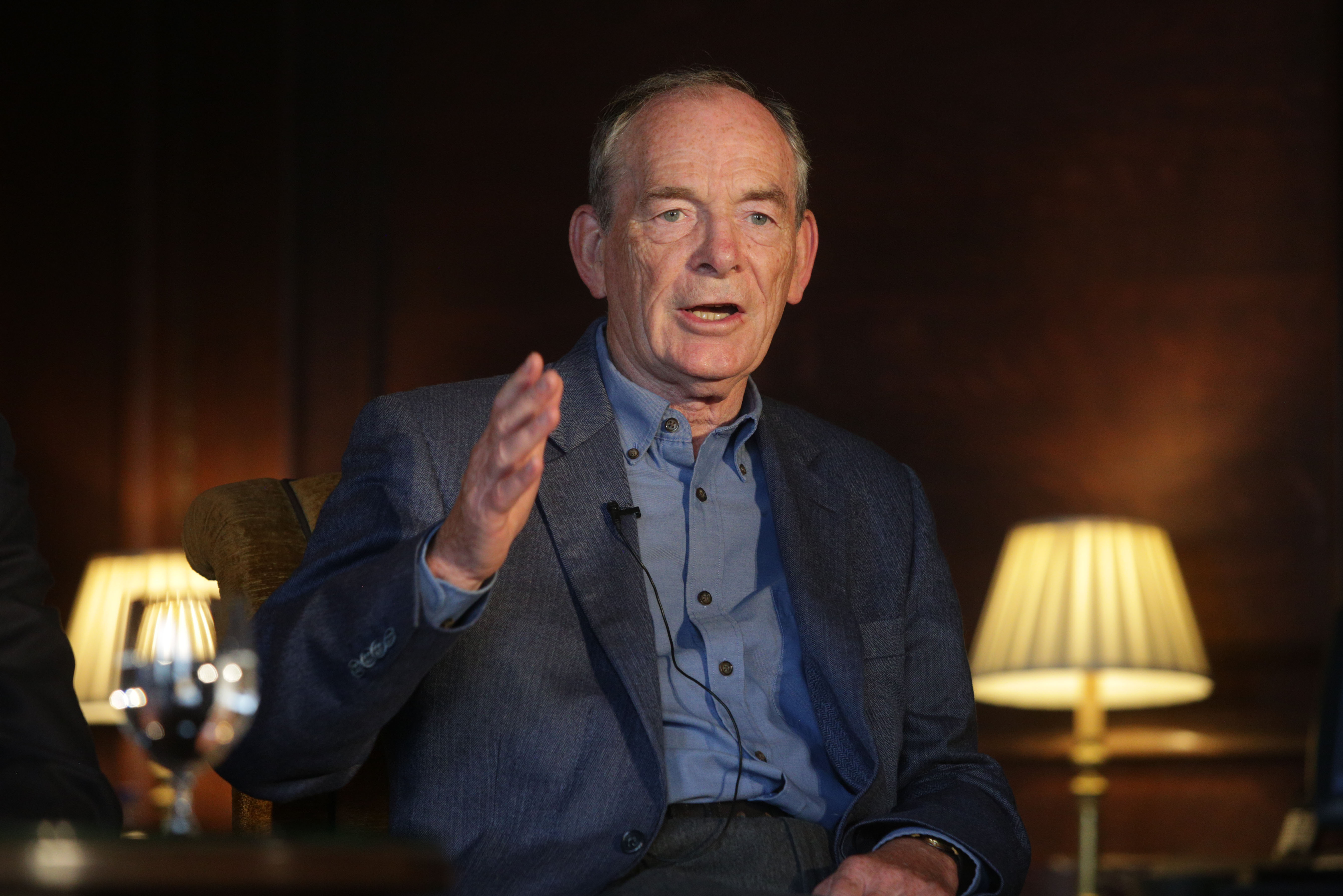Simon Jenkins at Cliveden Literary Festival