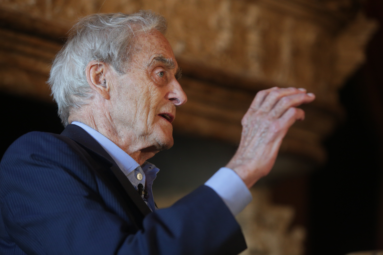 Sir Harry Evans at Cliveden Literary Festival