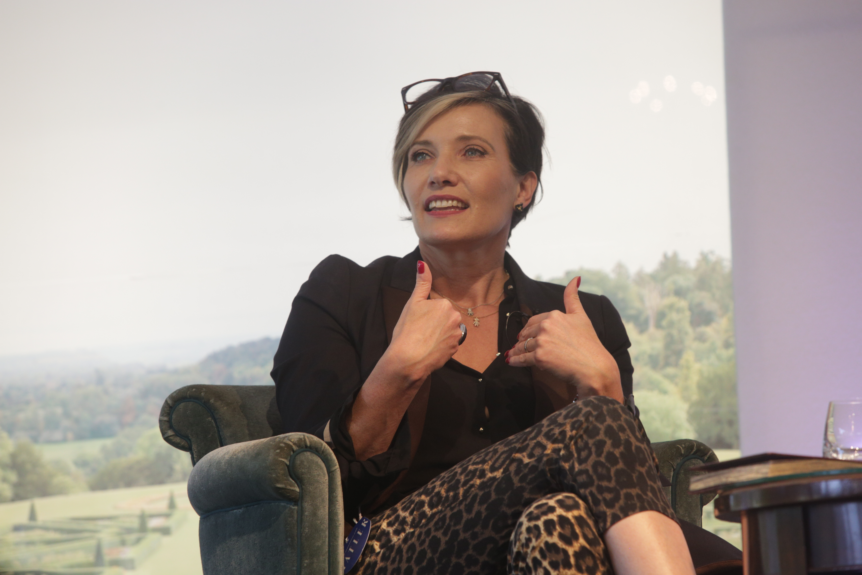 Tanya Byron at Cliveden Literary Festival